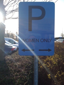 woman only