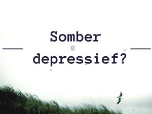 somber depressief